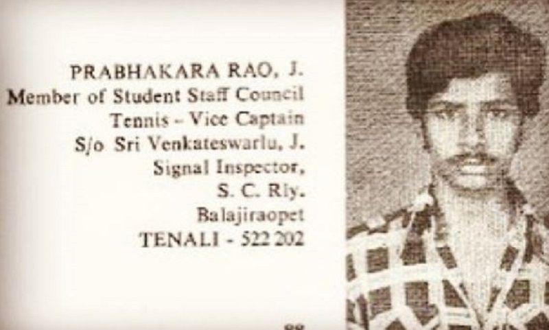 A Picture of Chaitanya Jonnalagedda's Father