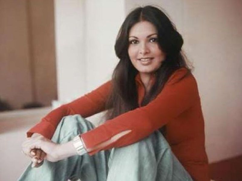 An Old Picture of Parveen Babi