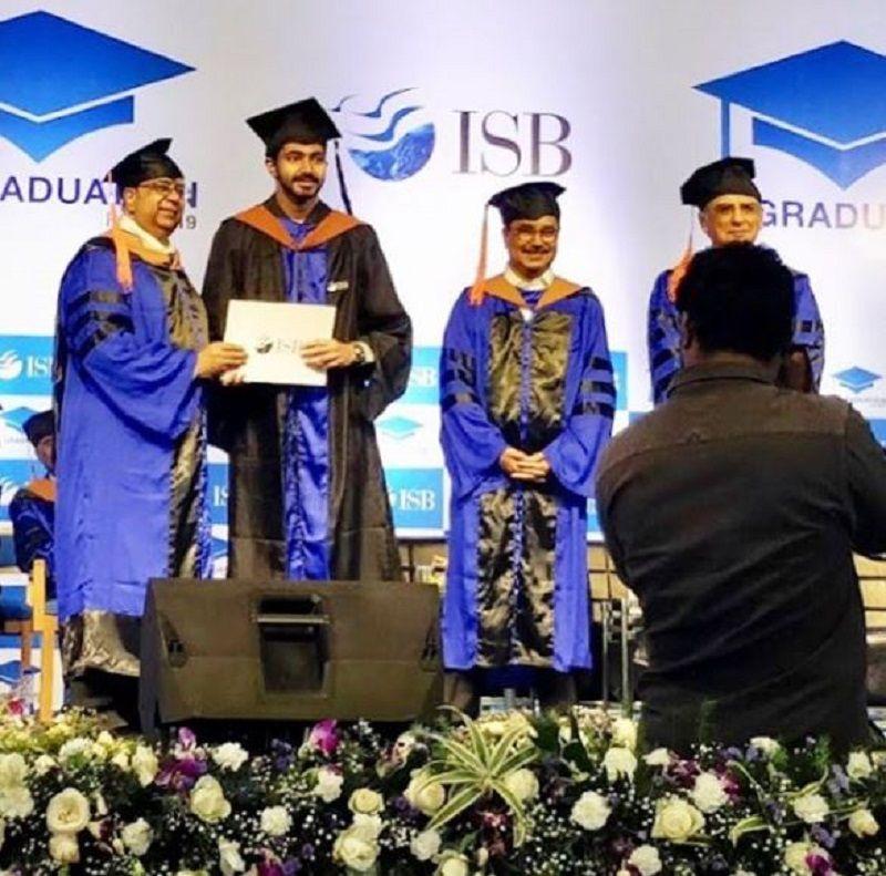 Chaitanya Jonnalagedda on His Graduation Day