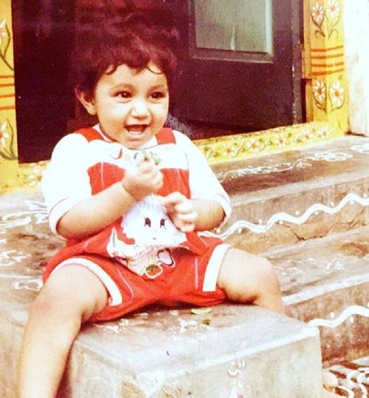 Chaitanya Jonnalagedda's Childhood Picture