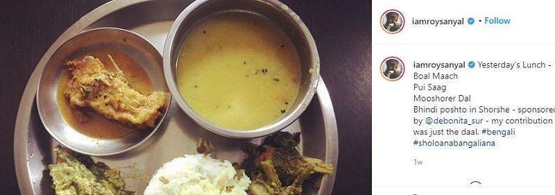 Chandan Roy Sanyal's Instagram Post