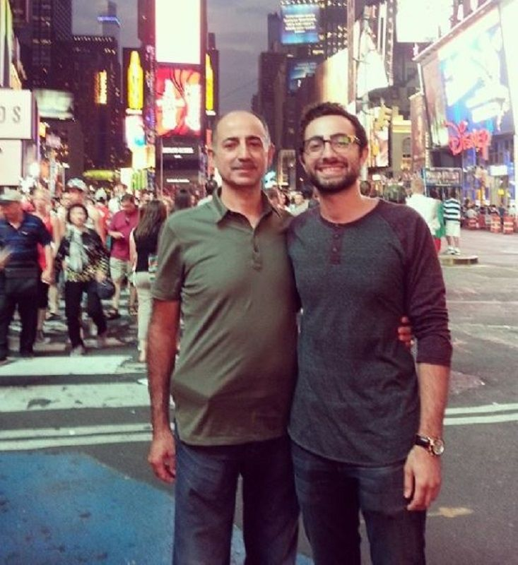 Elwa Saleh's Father and Brother