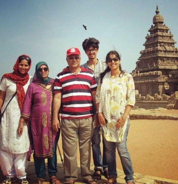 Manasi Joshi with Her Family