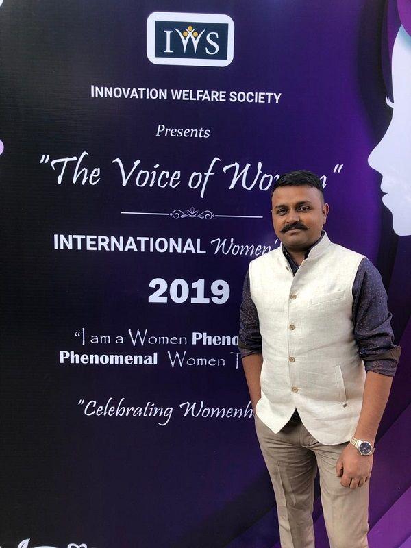 Mohd Badar at an Event of Innovation Welfare Society