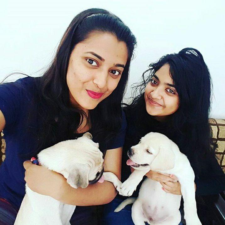 Nandana Varma loves dogs