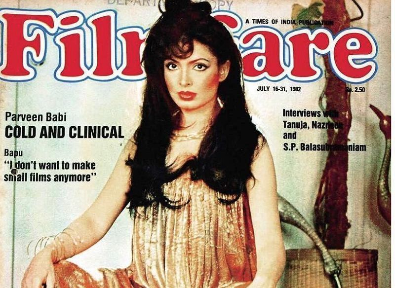 Parveen Babi Featured on a Magazine Cover