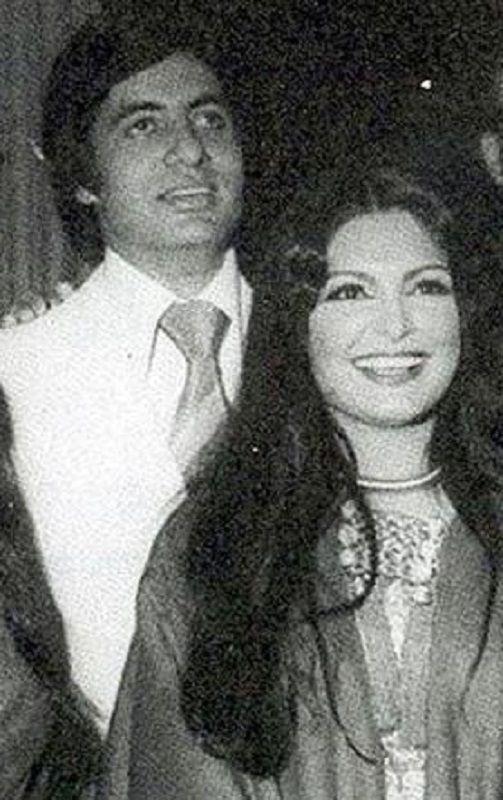 Parveen Babi and Amitabh Bachchan