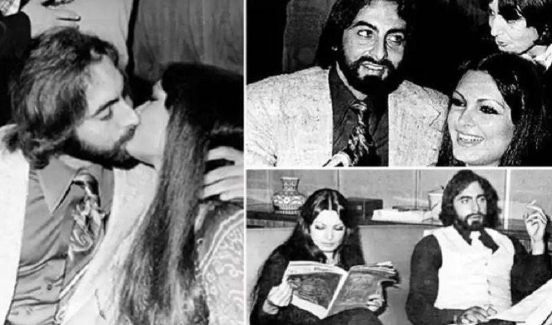 Pictures of Kabir Bedi and Parveen Babi