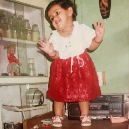 Prachi Tehlan's childhood picture