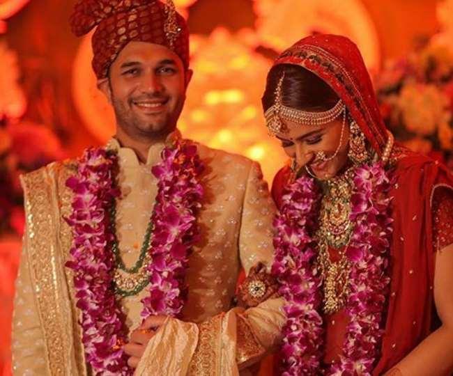 Prachi Tehlan's wedding picture