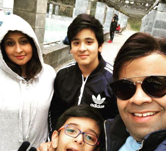Priyanka Sharda With Her Family
