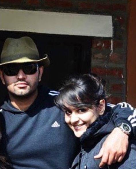 Rohit Saroha with Prachi Tehlan