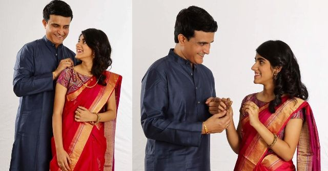 Sana Ganguly's Jewelry advertisement pictures