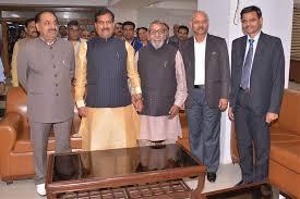 नई दिल्ली रेल भवन रेल मंत्रालय में ...