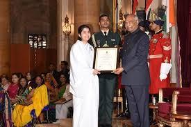 President of India Confers Nari Shakti Award to Brahma Kumari Sister Shivani  – Brahma Kumaris News