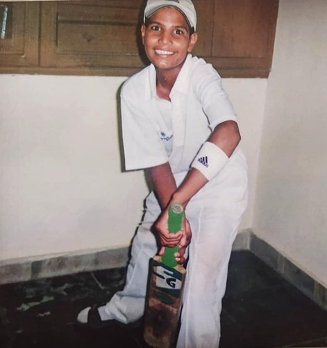 Childhood picture of Lalit Yadav
