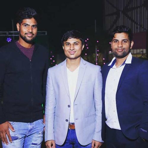 Lalit Yadav with his brother, Tarun Yadav (right)