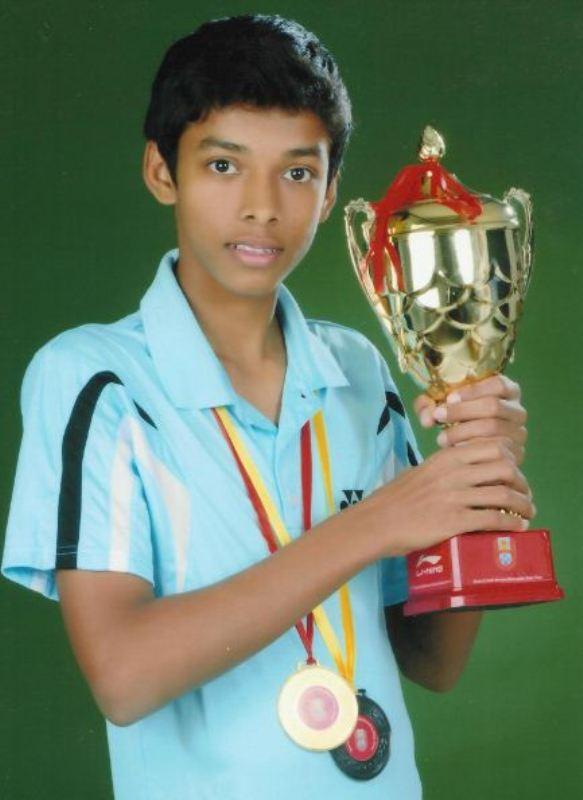 Chirag Shetty won team Championship and individual Bronze in School Nationals