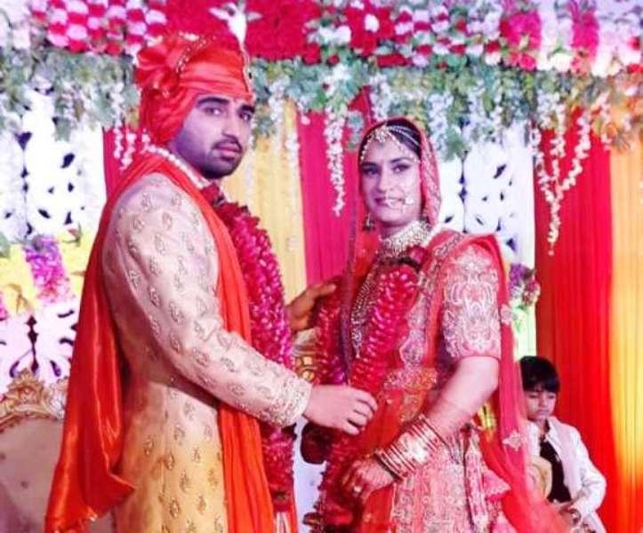 Vinesh Phogat on her wedding day