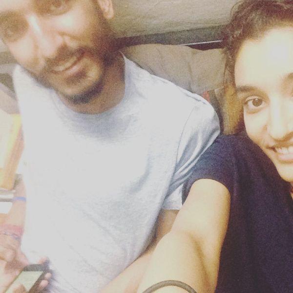 Kanishtha Dhankar with her brother