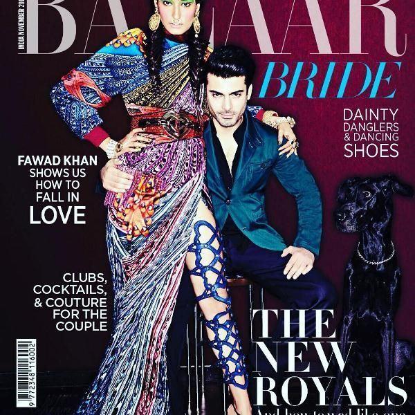 Kanishtha on the cover of Harpers Bazaars Magazine